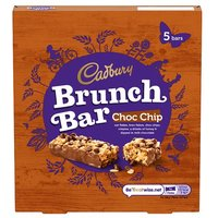 Cadbury Brunch Bars Chocolate Chip 6 Pack