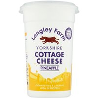 Longley Farm Cottage Cheese With Pineapple