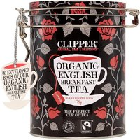 Clipper Organic English Breakfast Teabags Caddy 30s
