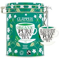 Clipper Organic Pure Green Teabags Caddy 30s