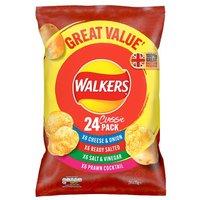 Walkers Variety Crisps 24 Pack