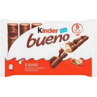Kinder Bueno Milk and Hazelnut 4 Pack