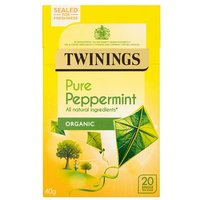 Twinings Organic Peppermint 20 Tea Bags