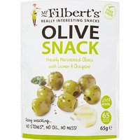 Mr Filberts Lemon & Oregano Pitted Green Olives