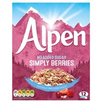 Alpen No Added Sugar Simply Berries