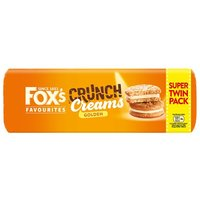 Foxs Golden Crunch Creams Twin Pack