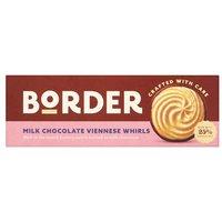 Border Light & Chocolatey Viennese Whirls