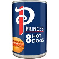 Princes 8 Hot Dogs