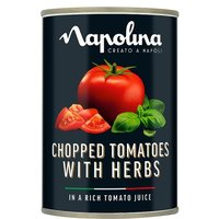 Napolina Chopped Tomatoes with Herbs