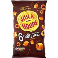 KP Hula Hoops Barbeque 6 Pack