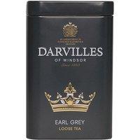 Darvilles Of Windsor Earl Grey Leaf Tea Caddy