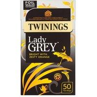 Twinings Lady Grey Tea Bags 50
