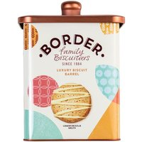 Border Luxury Biscuit Selection Barrel