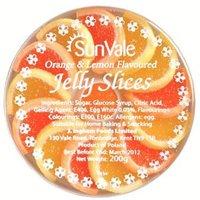 Sunvale Orange and Lemon Flavoured Jelly Slices