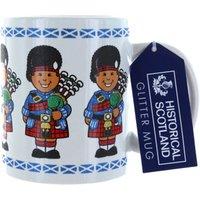 Scotland Glitter Piper Mug