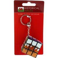 Welsh Dragon Puzzle Cube Keyring