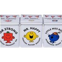 Mr Men & Little Miss Tea & Biscuit Tin Gift Pack