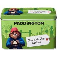 Paddington Bear Tin with Chocolate Chip Cookies