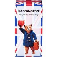 Paddington Bear Union Jack Tea Carton with 40 English Breakfast Teabags