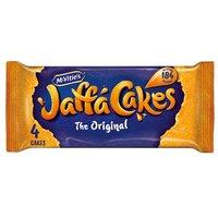 McVities Jaffa Cakes 4 Pack Snack Pack
