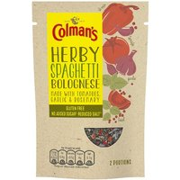 Colmans Natural Seasonings Gluten Free Spaghetti Bolognese