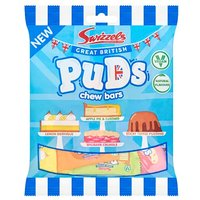 Swizzels Great British Puds Chew Bars Bag