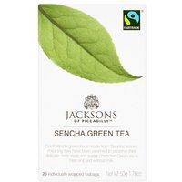 Jacksons Green Pure Sencha 20 Teabags Fairtrade