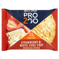 SCI-MX PRO 2Go Strawberry and White Chocolate Cookie 75g