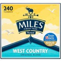 Miles West Country Original Blend 240 Tea Bags