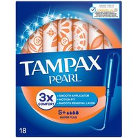 Tampax Super Plus Pearl Applicator Tampons 18 Pack