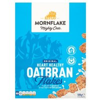 Mornflake Mighty Oats Original Heart Healthy Oatbran Flakes
