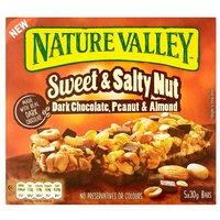 Nature Valley Sweet&Salty Nut Dark Chocolate Peanut & Almond 4 x30g
