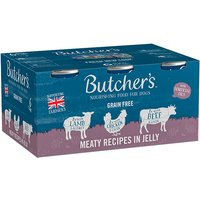 Butchers Meaty Chunks in Jelly 6x400g