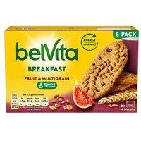 Belvita Breakfast Fruit&Multigrain 5x45g