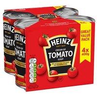 Heinz Cream Of Tomato Soup 4 Pack