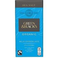 Green & Blacks Milk Sea Salt Chocolate