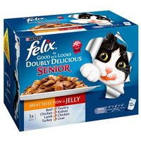 Felix As Good As It Looks Doubly Senior 12 x 100g