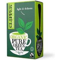 Clipper Organic Fairtrade Green Tea 20'S