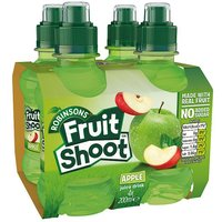 'Robinsons Fruit Shoot Apple No Added Sugar 4 Pack