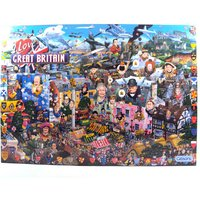 Gibsons I Love Great Britain Jigsaw Puzzle 1000 Pieces