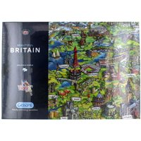 Gibsons Beautiful Britain Jigsaw Puzzle 1000 Piece