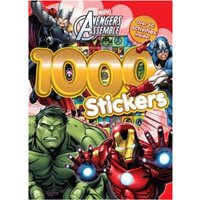 Marvel Avengers Assemble 1000 Stickers Over 60 activities inside!