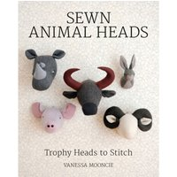 Sewn Animal Heads - 15 Trophy Heads to Stitch