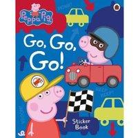Peppa Pig: Go Go Go! Vehicles Sticker Book