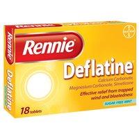 Rennie Deflatine 18 Tablets