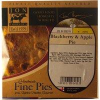 Homemade Apple & Blackberry Pie