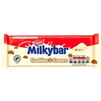 Nestle Milkybar Cookies and Cream Block