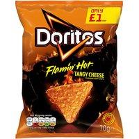 Doritos Flamin Hot PMP 15 x 70g