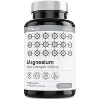 Vita Vida Magnesium 1440mg 120 Capsules