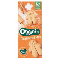 Organix 12 Month Gingerbread Men 15 Pack